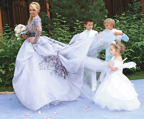 Яна Рудковская В Свадебном Платье 11