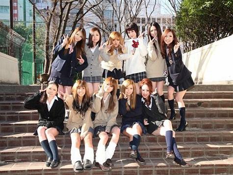 трах японских школниц