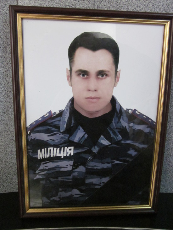Погибший боец «Беркута» Андрей Федюкин