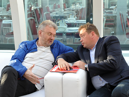 Борис Левин и Леонид Слуцкий