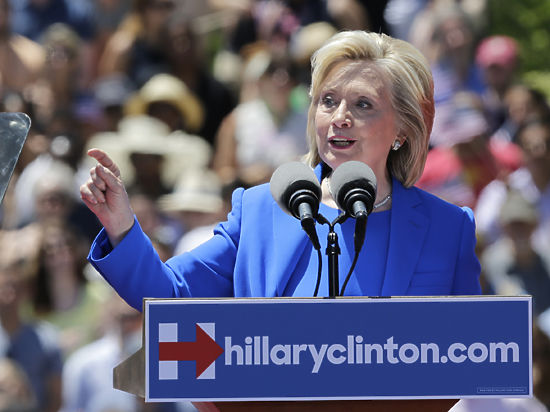 Хиллари Клинтон: «Я уже противостояла таким противникам, как Путин»