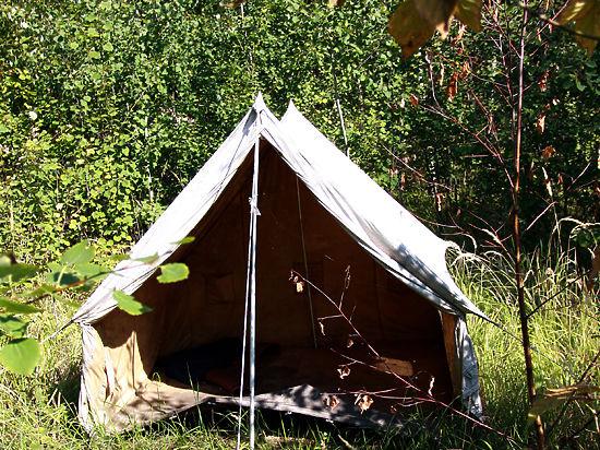 В Москве открылся сезон краж из туристических палаток