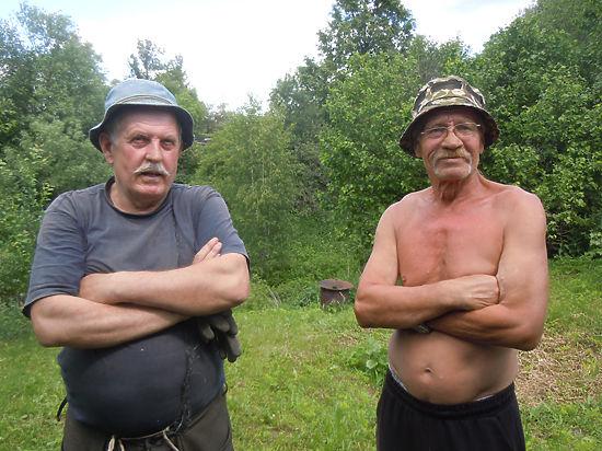 В маленькой деревеньке Еськино под Серпуховом нет света уже… 35 лет
