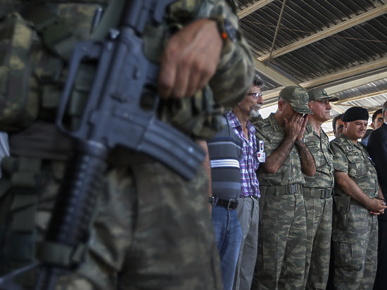 Турция воюет с Исламским государством внутри страны и в Сирии
