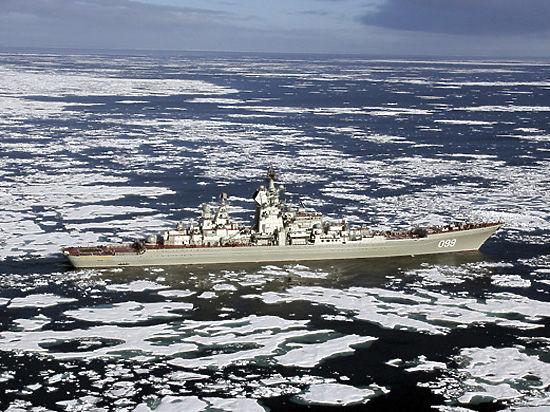 Россия наращивает военную группировку в Арктике