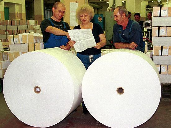 Комбинаты продолжают взвинчивать цены на бумагу