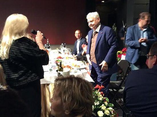 Табаков отпраздновал юбилей в МХТ: «Не хрен собачий!»