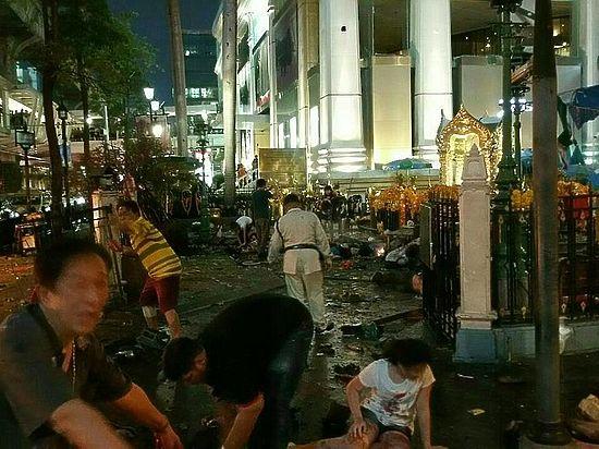 Взрыв в Бангкоке множество жертв сведений о россиянах нет
