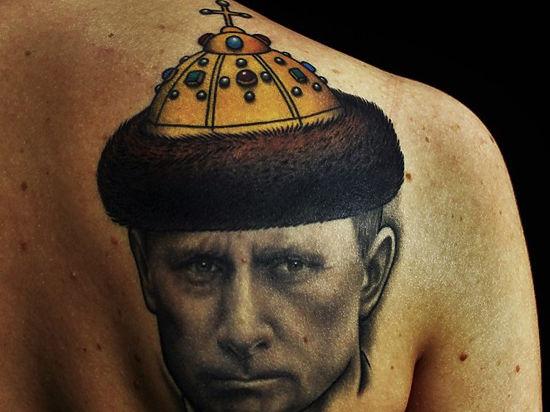 Путин на всю жизнь: россияне объяснили свои тату с президентом