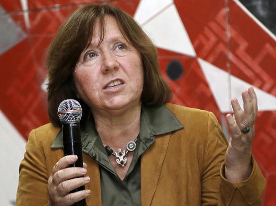 Нобелевская премия по литературе досталась белорусской писательнице Светлане Алексиевич