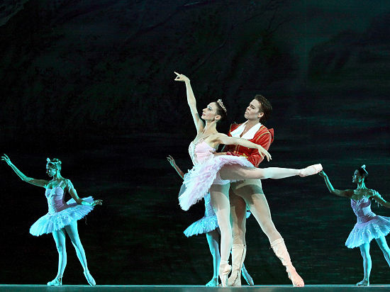 Премьер Королевского балета засветился в Кремле