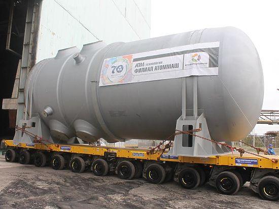 Из Волгодонска выехал атомный реактор для белорусской АЭС