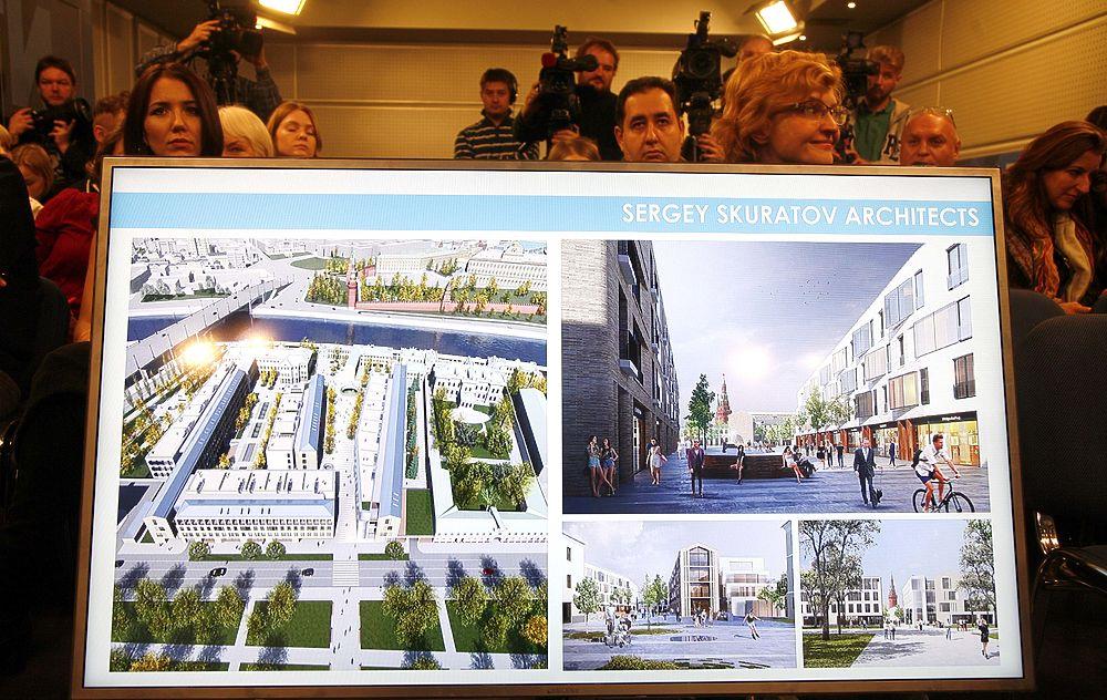 Архитектурный конкурс софийская набережная