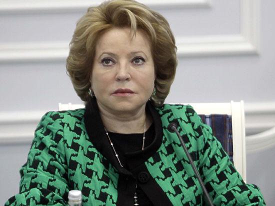 Валентина Матвиенко рассказала, как депутатов будут бить декларациями по мандату
