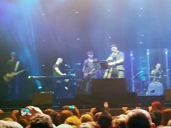 Зал на концерте Шевчука встал на колени соболезнуя жертвам А321
