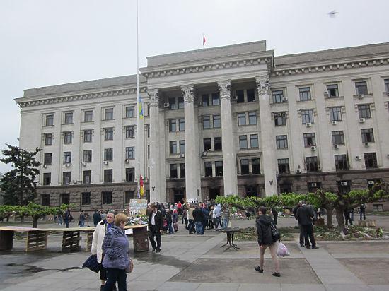 Альтернативное расследование одесской трагедии: людей в Доме профсоюзов убили шашками