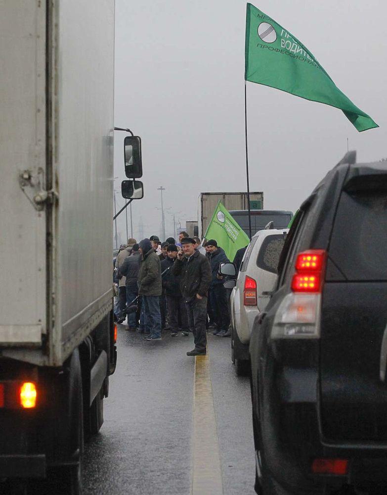 забастовка дальнобойщиков ростов на дону
