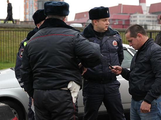 В первый день работы патруля ГИБДД поймали сына директора рынка