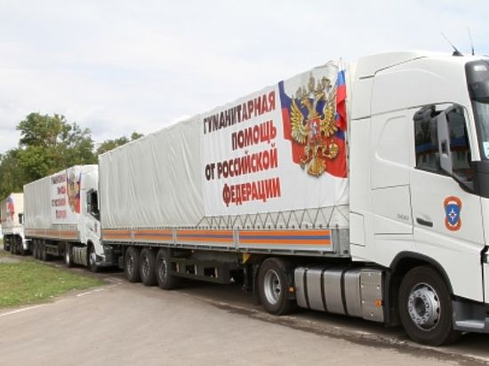Завершено формирование 45 колонны для Донецка и Луганска