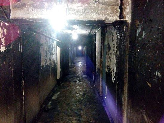 Студенты горевшего общежития Менделеевки спасались мокрыми тряпками