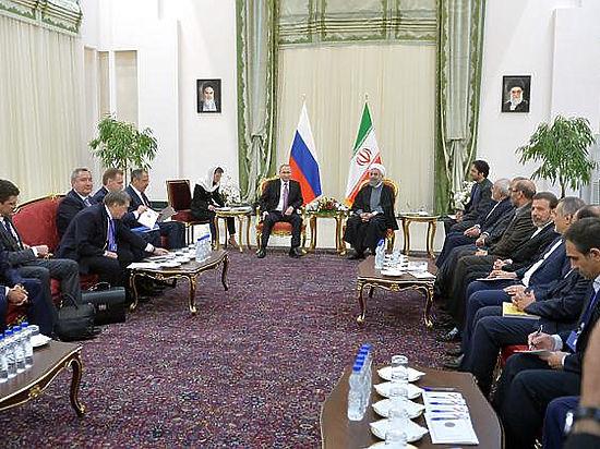Визит Путина в Иран ознаменовался закулисными скандалами