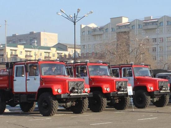 В Забайкалье представители бизнеса закупили новую технику для спасателей