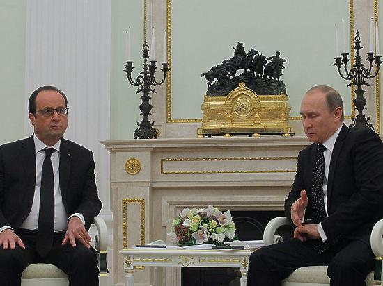 Ерунда и отговорки: Путин растоптал оправдания Турции, беседуя с Олландом