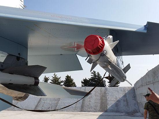 Российские Су-34 в Сирии будут защищаться от противника ракетами «воздух-воздух»