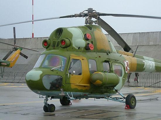 Вертолёт с туристами рухнул посреди города на Камчатке