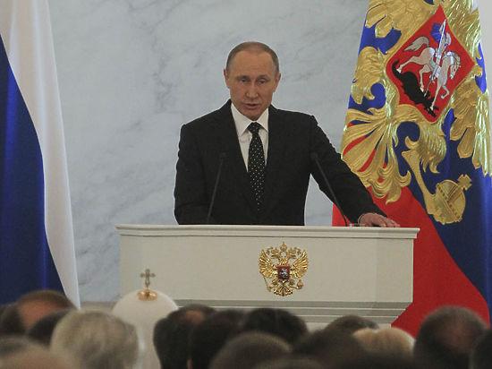 Послание цвета хаки: Путин обратился к Федеральному собранию как Главнокомандующий