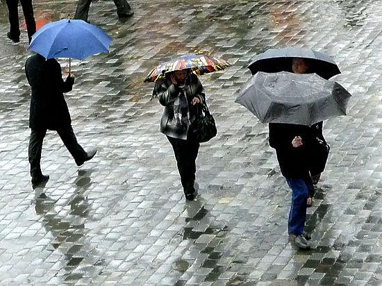 Москва побила температурный рекорд на фоне шторма