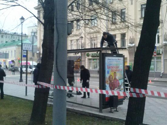 Эксперт: на остановке в Москве взорвали аналог гранаты Ф-1