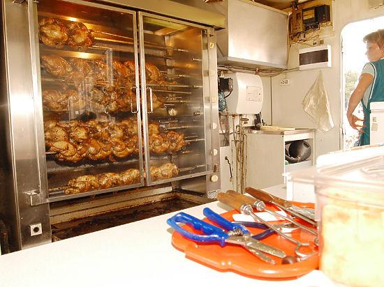Роспотребнадзор запретил продавать курицу-гриль без упаковки