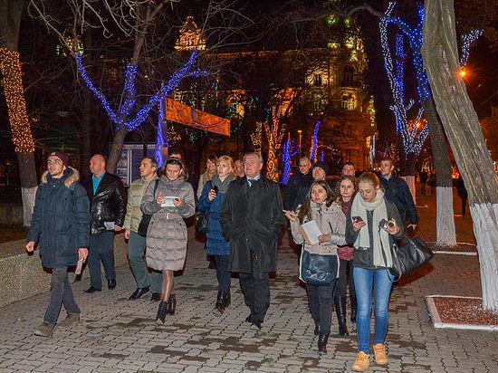 Ростов-на-Дону готовится к новогодним праздникам