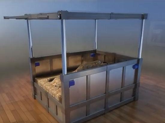 «Кровать-гроб» для защиты от землетрясений предложил российский инженер
