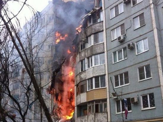 Подъезд дома в Волгограде могло разрушить взрывом после ремонта мотоцикла