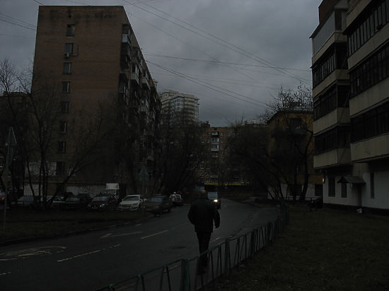 тёмная улица картинки