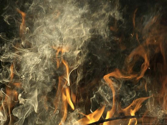 После пожара в Подмосковье очевидцы сами отвезли детей в больницу