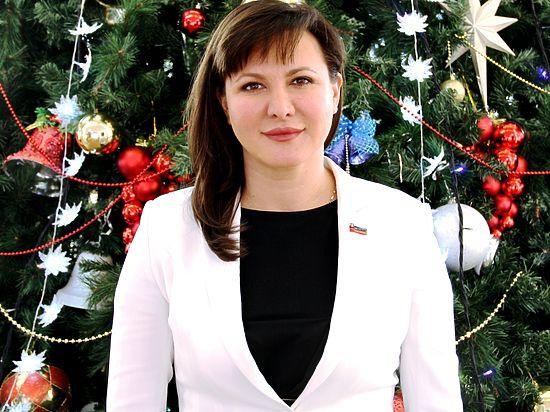 Серпуховичей поздравляет Ольга Ковшарь