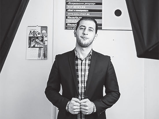 Главный редактор «МК в Астрахани» Абдуризаев Замир поздравил астраханцев с Новым годом