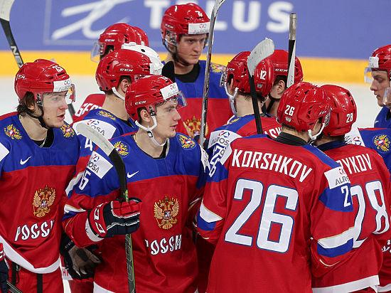 Сборная Российской Федерации  похоккею прошла вполуфиналЧМ