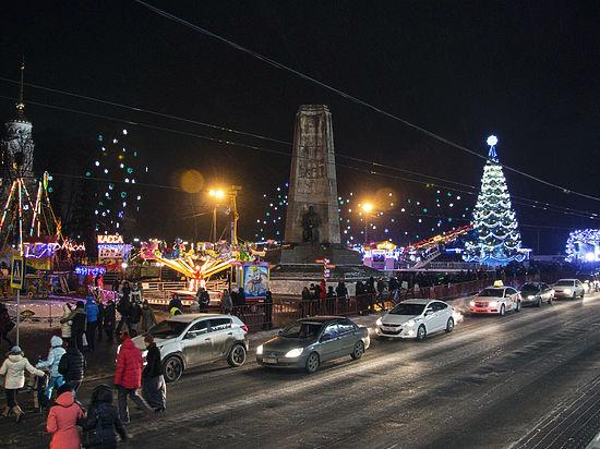 55 тысяч человек встретили Новый год на улицах Владимира