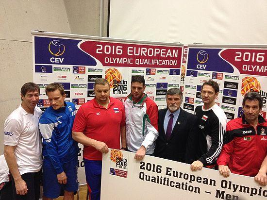 Волейбол, мужчины, олимпийский отбор: немецкий тренер наложил санкции на Россию
