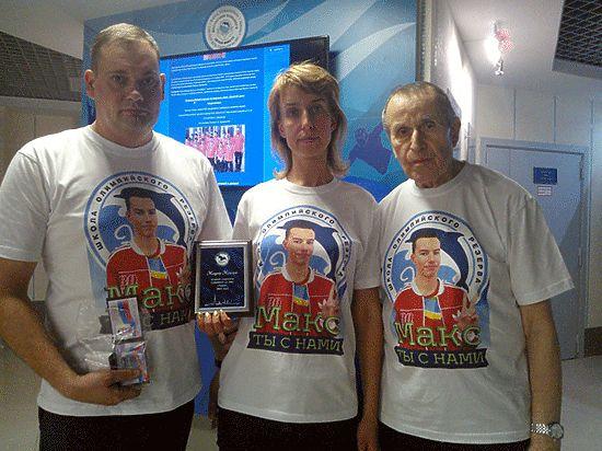 За погибшего в Болгарии юного питерского пловца награды получала мама