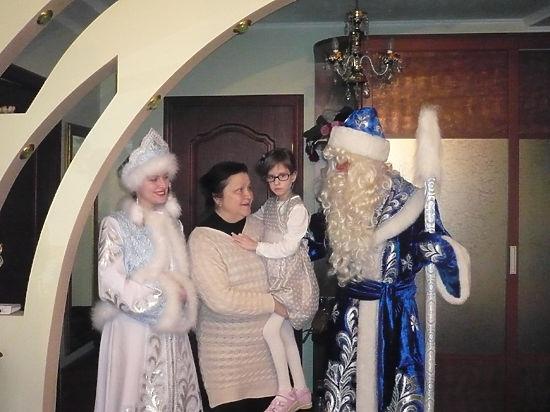 Дед Мороз пришел к тем, кому больше всего нужна помощь