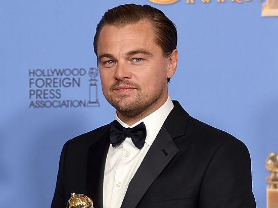 Ди Каприо отрепетировал получение «Оскара»