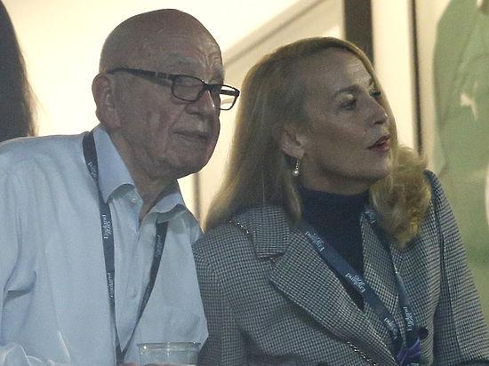84-летний медиамагнат Руперт Мёрдок женится на экс-супермодели