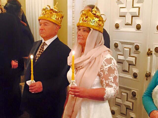 Лужков и Батурина обвенчались в подмосковной церкви