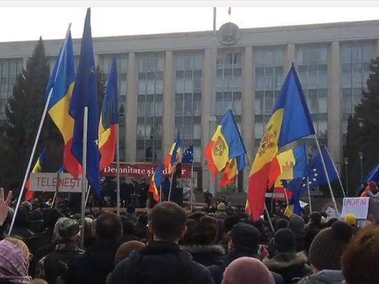 В Молдавии кандидатура на пост премьер-министра вызвала массовые волнения