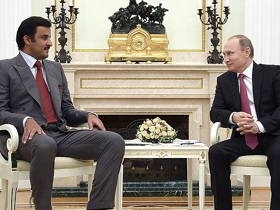 Катарский министр заявил в Кремле о «групповом наказании» сирийского народа